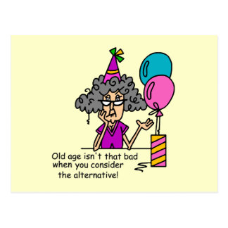 Birthday Alternative Humor Postcard