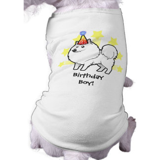 Birthday American Eskimo Dog / German Spitz Shirt