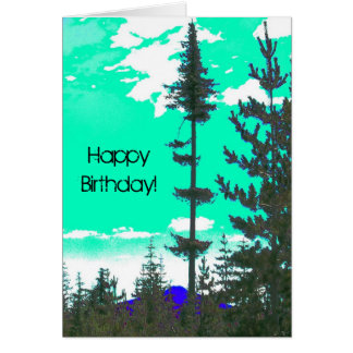 Birthday at Hawk Mountain Note Card