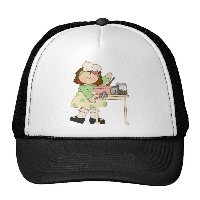 Birthday Baker Girl Cap
