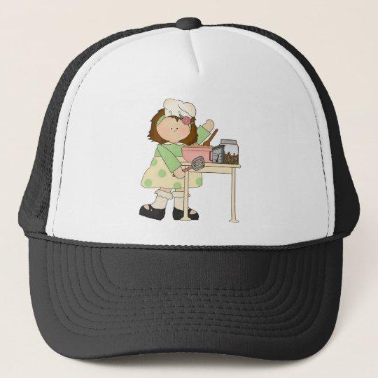 Birthday Baker Girl Trucker Hat