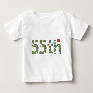 Birthday Balloon 55th Birthday Gifts Baby T-Shirt