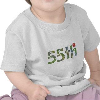 Birthday Balloon 55th Birthday Gifts Tee Shirt