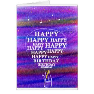 Birthday Balloon wishes Card
