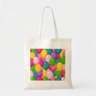 Birthday Balloons Budget Tote Bag