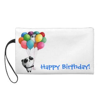 Birthday Balloons Panda Bear Wristlets