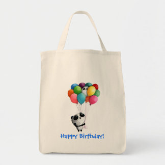 Birthday Balloons Panda Bear Bags