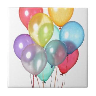 Birthday Balloons Tile