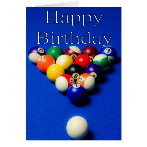 Birthday Balls Greeting Cards