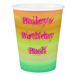 Birthday Bash Paper Cup