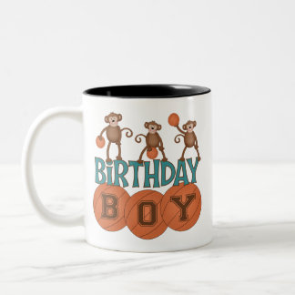 Birthday Basketball Boy Mugs