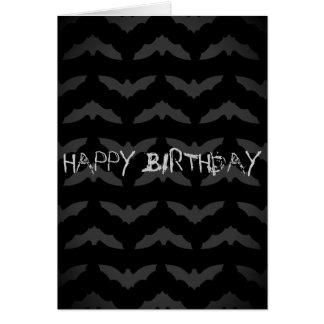 Birthday Bat Crazy Card