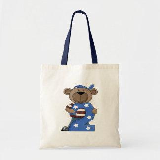 Birthday Bear 2 Budget Tote Bag