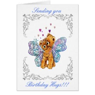 Birthday Bear Hugs Card