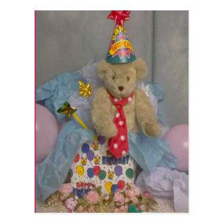 Birthday Bear Postcard