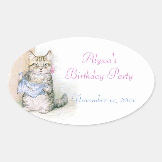 Birthday, Beatrix Potter Sticker