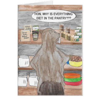 Birthday Beaver Card