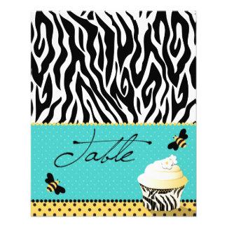 Birthday Bee Table Card 2 11.5 Cm X 14 Cm Flyer