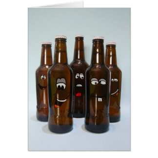 Birthday Beer Humor Card