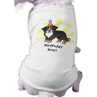 Birthday Bernese Mountain Dog Sleeveless Dog Shirt
