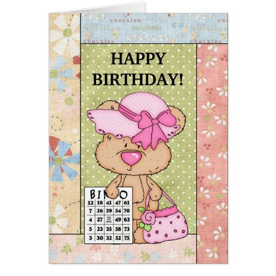 Birthday Bingo greeting card