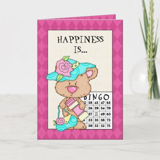 Birthday Bingo Greeting Card Birthday Bingo Greeting Card Zazzle