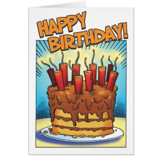 Birthday Blast Card
