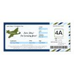 Birthday Boarding Pass Ticket Invite