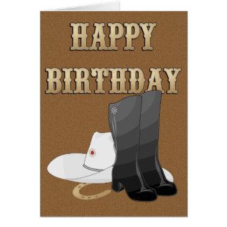 BIRTHDAY Boots CARD