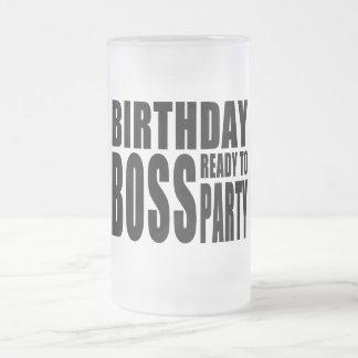 Birthday Boss Ready to Party Mug