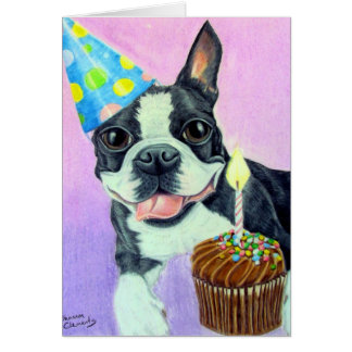 Birthday Boston Card