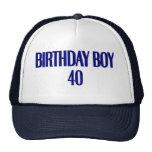 Birthday Boy 40 Trucker Hats