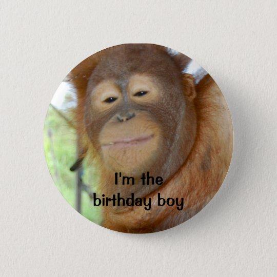 Birthday Boy 6 Cm Round Badge