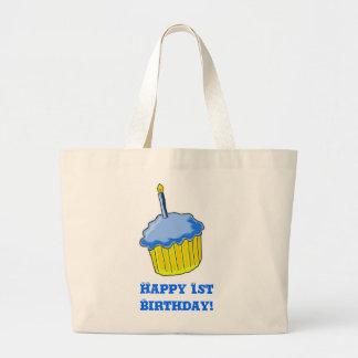 Birthday Boy Art Jumbo Tote Bag