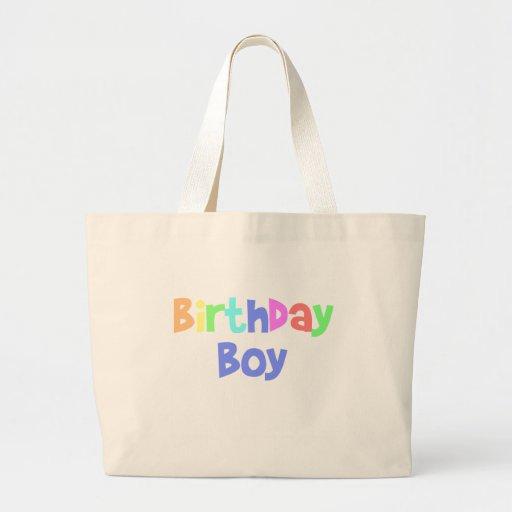 Birthday Boy Canvas Bag