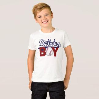 Birthday Boy, Birthday Shirt, Baseball Birthday T-Shirt