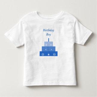 Birthday Boy, Blue Birthday Cake Shirt
