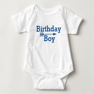 Birthday Boy - Boho Arrow - Customize Baby Bodysuit
