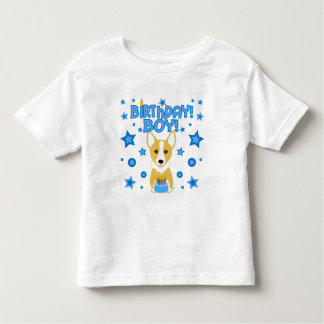 Birthday Boy - Corgi Toddler T-Shirt