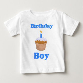 Birthday Boy Cupcake Shirt