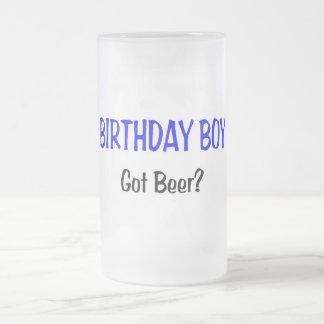 Birthday Boy Got Beer Blue Coffee Mug