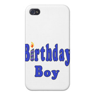 Birthday Boy Cover For iPhone 4