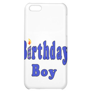 Birthday Boy iPhone 5C Covers