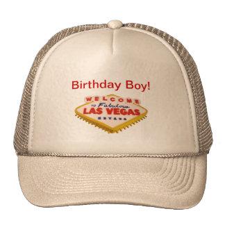 Birthday Boy! Las Vegas Cake Hat