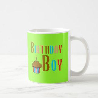 Birthday Boy Multicolored Products Basic White Mug