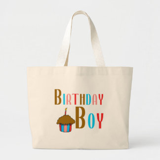 Birthday Boy Multicolored Products Bag