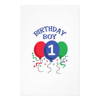 BIRTHDAY BOY ONE STATIONERY