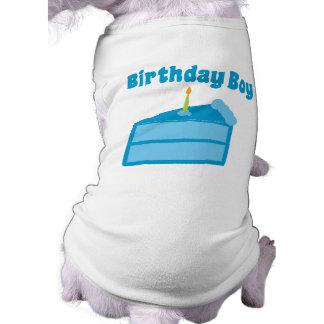 Birthday Boy Sleeveless Dog Shirt