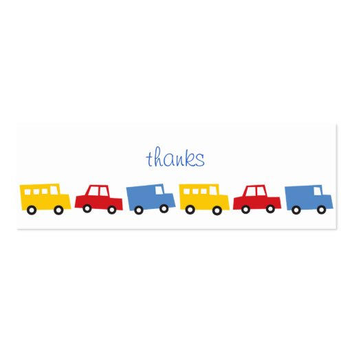 Create Your Own Truck Driver Business Cards Page7