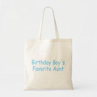 Birthday Boy's Favorite Aunt Bag
